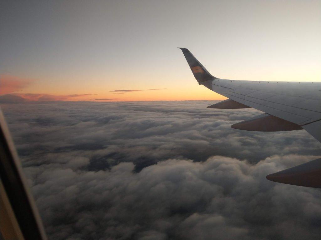 Wooynana image of plane in the skies